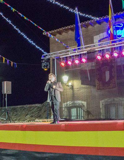 Saulo cantando en Villasequilla